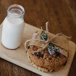 Milk and Cookies from our Pastry Kitchen