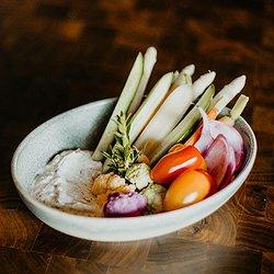Market Vegetable Crudités with Herbed Yogurt