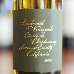 2017 Landmark Vineyards Overlook Chardonnay Half Bottle