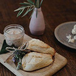 House Baked Scones with Honey Butter